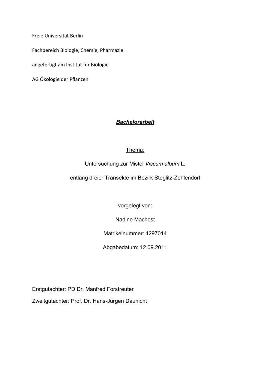 Fach Botanik Klimawandel Und Vegetation Homepage
